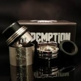 Titanium Redemption RDA with Silver Deck by Armageddon Mfg.