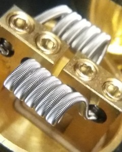 Handmade Alien Coils by Vapedaddy Coilz (pair)