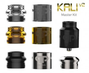 KALI V2 RDA/RSA Master Kit by QP Designs