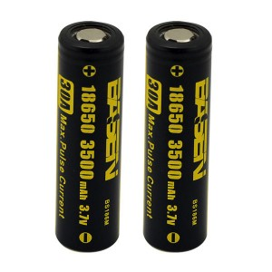 2X Basen 3500 mah 30 amp 18650 High Drain Rechargeable Battery