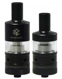 Black Steam Crave RDTA Aromamizer