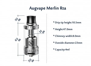 The Merlin RTA by Augvape