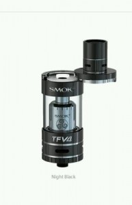 SMOK BLACK TFV4 SUB OHM TANK SINGLE KIT 5 ML