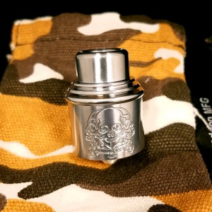 War of Vape Titanium Apocalypse RDA by Armageddon Mfg.