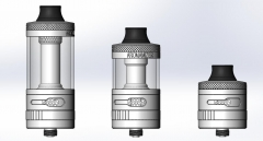 Aromamizer Supreme V2.1 by Steam Crave (5ml & 8ml Bundle Kit)
