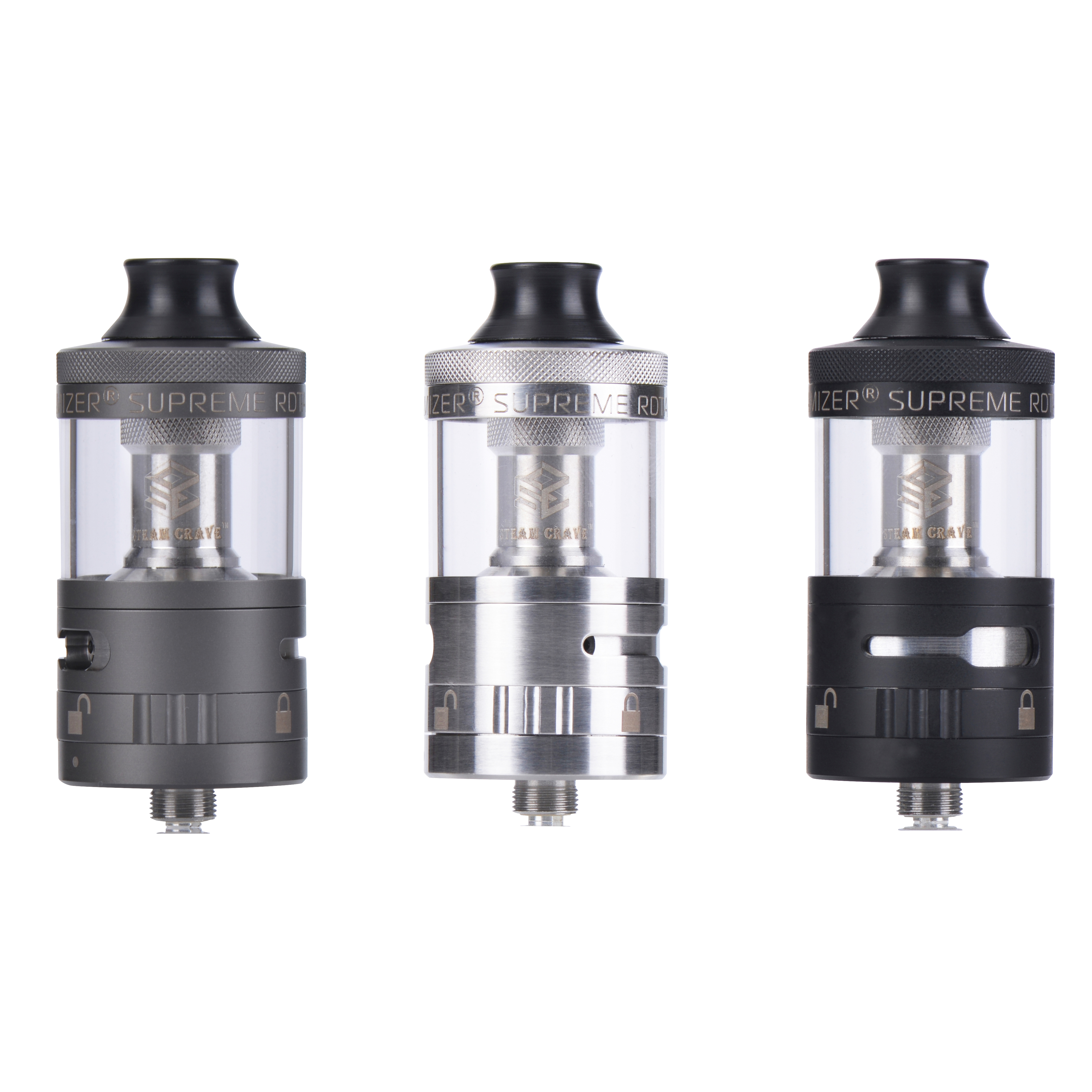 V2: Aromamizer Supreme V2.1 By Steam Crave (5ml & 8ml Bundle Kit
