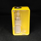 Armageddon Mfg. Squonker Box Yellow/Clear