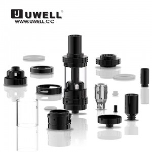 UWELL BLACK CROWN SUB OHM TANK BY UWELL
